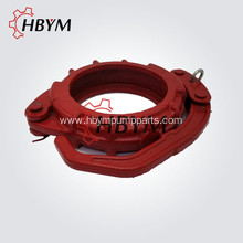 Concrete Pump Spare Parts Casting Snap Clamp Coupling